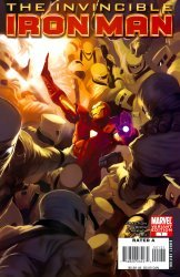 Marvel Comics's Invincible Iron Man Issue # 1d