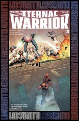 Valiant Entertainment's Wrath of the Eternal Warrior Issue # 8d