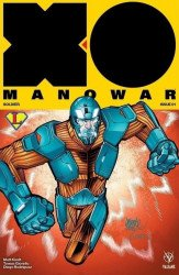 Valiant Entertainment's X-O Manowar Issue # 1legends