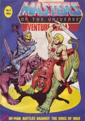London Editions Magazines's Masters of the Universe Adventure Issue # 7