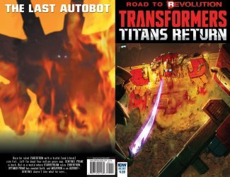 IDW Publishing's Transformers: Titans Return Issue # 1