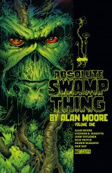 DC Comics's Absolute Swamp Thing By Alan Moore Hard Cover # 1