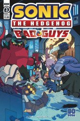 IDW Publishing's Sonic the Hedgehog: Bad Guys Issue # 3