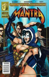 Malibu Comics's Mantra Issue # 2b