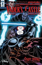 IDW Publishing's Star Wars Adventures: Tales From Vader's Castle Issue # 2b