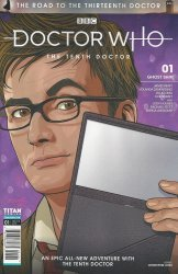 Titan Comics's Doctor Who: The Tenth Doctor - The Road To The 13th Doctor Issue # 1c
