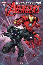 IDW Publishing's Marvel Action: Avengers Issue # 9