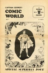 Memory Lane Publications's Captain George's Comic World Issue # 7