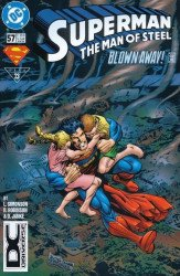 DC Comics's Superman: Man of Steel Issue # 57b