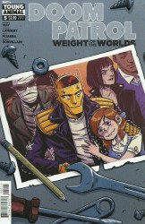 DC Black Label's Doom Patrol: Weight of the Worlds Issue # 5