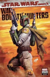 Marvel Comics's Star Wars: War of the Bounty Hunters - Alpha Issue # 1slhla