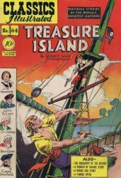 Gilberton Publications's Classics Illustrated #64: Treasure Island Issue # 2b