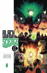 Image Comics's Black Science Hard Cover # 3