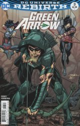DC Comics's Green Arrow Issue # 3b