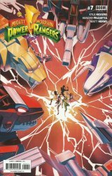 BOOM! Studios's Mighty Morphin Power Rangers Issue # 7