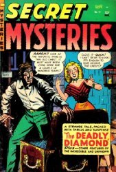 Ribage Publishing Corp.'s Secret Mysteries Issue # 17