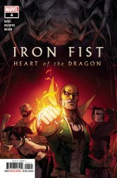 Marvel Comics's Iron Fist: Heart of the Dragon Issue # 4