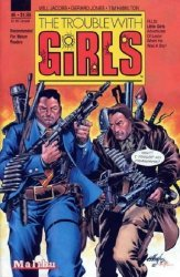 Malibu Comics's The Trouble with Girls Issue # 6