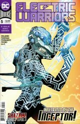 DC Comics's Electric Warriors Issue # 5