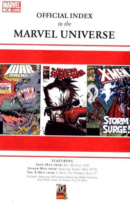 index of marvel comics pdf