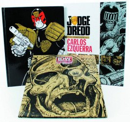 IDW Publishing's Judge Dredd: The Complete Carlos Ezquerra Hard Cover # 1b