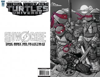 IDW Publishing's Teenage Mutant Ninja Turtles Universe Issue # 22re