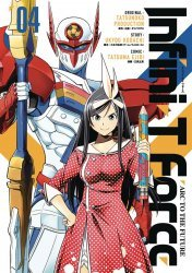 UDON Entertainment's Infini-T Force Soft Cover # 4