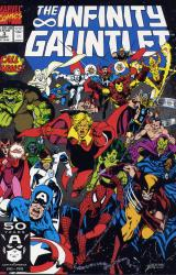 Marvel Comics's The Infinity Gauntlet Issue # 3