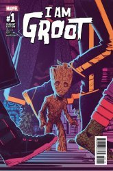 Marvel Comics's I Am Groot Issue # 1d