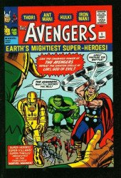 Marvel Comics's Avengers Issue # 1b