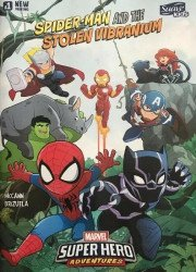 Marvel Comics's Marvel Super Hero Adventures: Spider-Man and the Stolen Vibranium Issue # 1suave kids