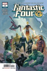 Marvel Comics's Fantastic Four Issue # 3