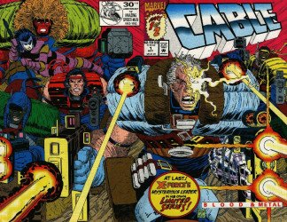 Marvel Comics's Cable: Blood and Metal Issue # 1