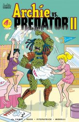 Archie Comics Group's Archie vs Predator 2 Issue # 4c