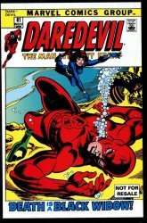 Marvel's Daredevil Issue # 81a