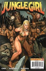 Dynamite Entertainment's Jungle Girl Issue # 3