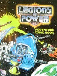 Tonka's Legions of Power: Adventure Comic Book Issue # 3