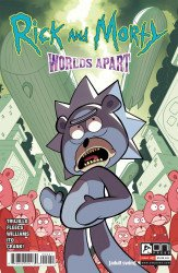 Oni Press's Rick and Morty: Worlds Apart Issue # 2b