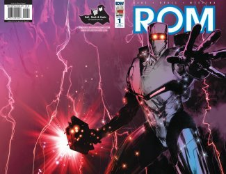 IDW Publishing's ROM Issue # 1re-bell, book