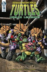 IDW Publishing's Teenage Mutant Ninja Turtles: Urban Legends Issue # 19