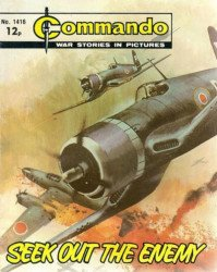 D.C. Thomson & Co.'s Commando: War Stories in Pictures Issue # 1416