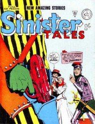 Alan Class & Company's Sinister Tales Issue # 39