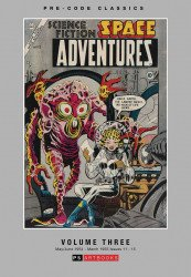 PS Artbooks's Pre-Code Classics: Space Adventures Hard Cover # 3