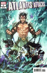 Marvel Comics's Atlantis Attacks Issue # 2d