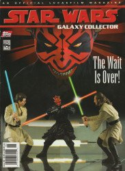 Topps Comics's Star Wars Galaxy Collector Issue # 6
