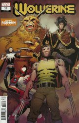 Marvel Comics's Wolverine Issue # 11b