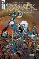 IDW Publishing's Ragnarok: Breaking Of Helheim Issue # 1ri-b