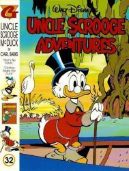 Gladstone's Uncle Scrooge Adventures in Color by Carl Barks Hard Cover # 32