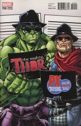 Marvel Comics's The Mighty Thor Issue # 700sdcc-px