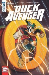 IDW Publishing's Duck Avenger Issue # 0sub